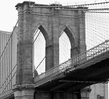 Brooklyn Bridge New York by Carmen Taylor