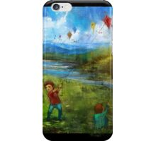 Let's go fly a kite :) iPhone Case/Skin