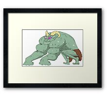 Loin Cloth Ricky Framed Print