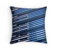Building Reflection Throw Pillow