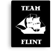 Team Flint with Ship Canvas Print
