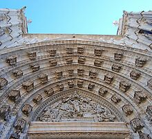 Intricate architecture - Seville Cathedral by Renee Hubbard Fine Art Photography