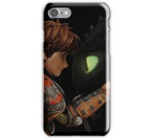 Hiccup & Toothless - Dragon Trainer iPhone Case/Skin