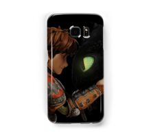 Hiccup & Toothless - Dragon Trainer Samsung Galaxy Case/Skin