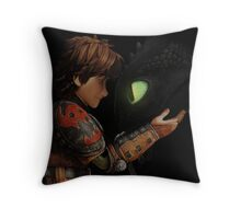 Hiccup & Toothless - Dragon Trainer Throw Pillow