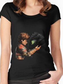 Dragon Trainer Women's Fitted Scoop T-Shirt