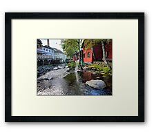 Crystal Clear in Lillehammer Framed Print
