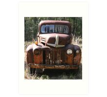 Rusty Beauty Art Print