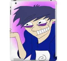 Crazy Asian Dude! iPad Case/Skin
