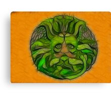 The Spirit of Green Man Canvas Print