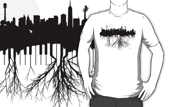New York Musical Roots by IHeartVector