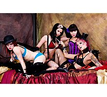 Burlesque Dollz Photographic Print