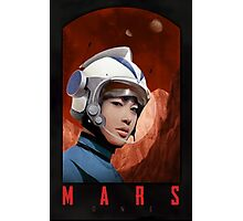 Mars One Retro Sci-Fi Astronaut Photographic Print
