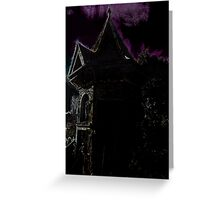 The Guest (Ghost) House Greeting Card