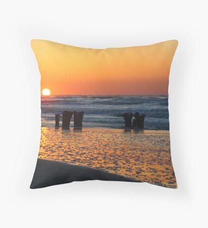 Folly Sunrise Throw Pillow