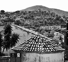 Agropoli: view roof by Giuseppe Cocco