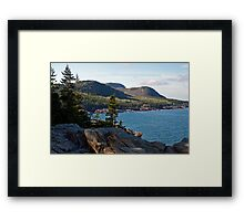 Cadillac Mountain - Acadia National Park Framed Print