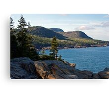 Cadillac Mountain - Acadia National Park Canvas Print