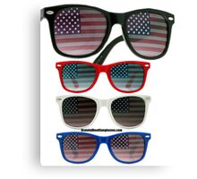 Patriot Shades Canvas Print