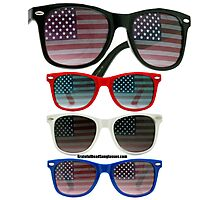Patriot Shades Photographic Print
