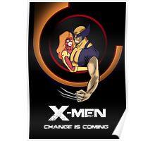 Bob Peak Inspired Xmen Poster Poster