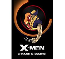 Bob Peak Inspired Xmen Poster Photographic Print