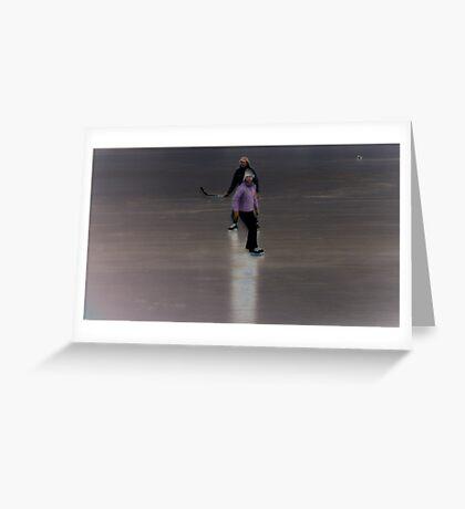 Skaters Greeting Card