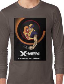 Bob Peak Inspired Xmen Poster Long Sleeve T-Shirt