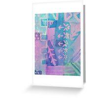 Arrows & Dots  Greeting Card