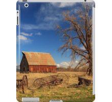 Old Barn In Chester iPad Case/Skin
