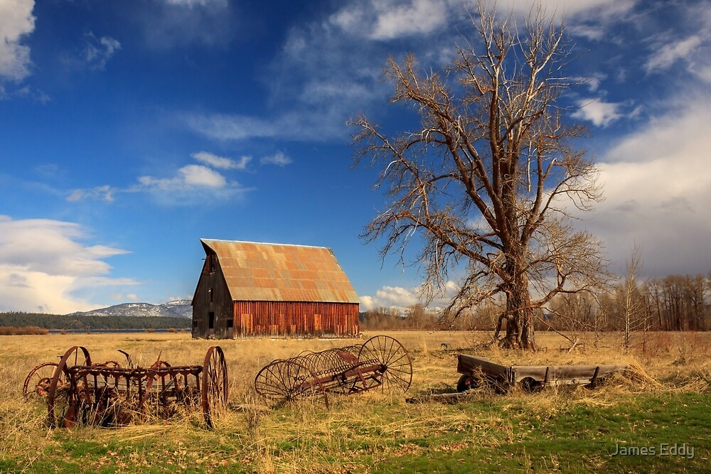 Old Barn In Chester by James Eddy