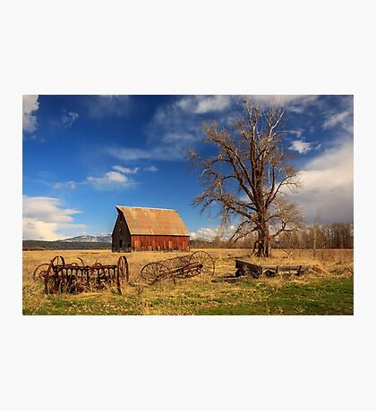 Old Barn In Chester Photographic Print