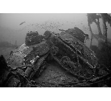 TWO TANKS Photographic Print