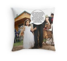 Patience is getting the best of me ... Weddings @ their best (-: Photography by Lei Hedger Throw Pillow