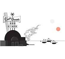 Uncle Owen's BBQ Diner by IvanovaTC