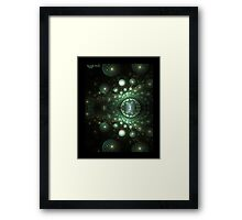 Realities Duality Framed Print
