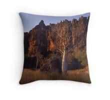Winjana_ Boab Tree Throw Pillow