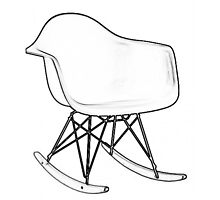 Eames Rocking Chair by Susan Schell