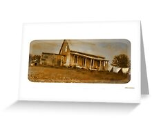 Old Homestead Greeting Card