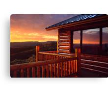 Colorado Cabin Canvas Print