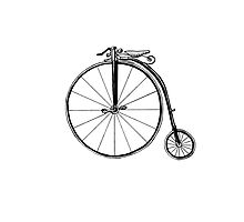 Penny Farthing Bicycle Photographic Print