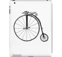 Penny Farthing Bicycle iPad Case/Skin