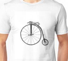 Penny Farthing Bicycle Unisex T-Shirt