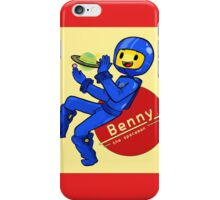 Benny the Spaceman iPhone Case/Skin