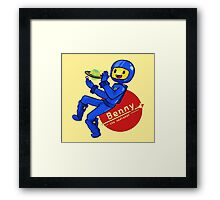 Benny the Spaceman Framed Print