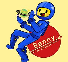 Benny the Spaceman by FrenchieFie