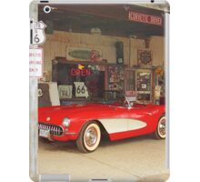 Route 66 Corvette iPad Case/Skin