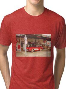 Route 66 Corvette Tri-blend T-Shirt