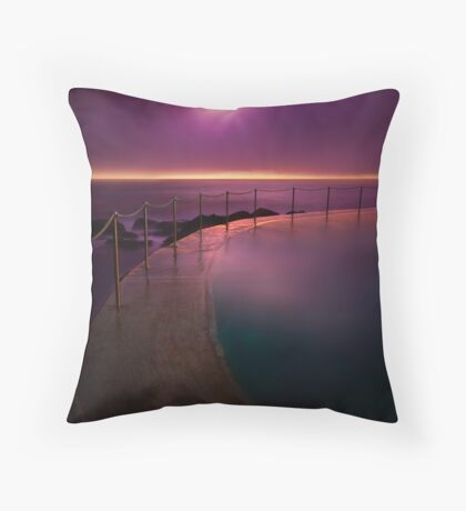 Bronte for breakfast Throw Pillow