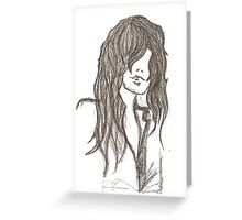 Meg. Greeting Card